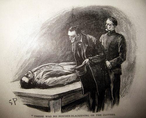 Algo de Poe, Conan Doyle, relato policial y ciencias forenses