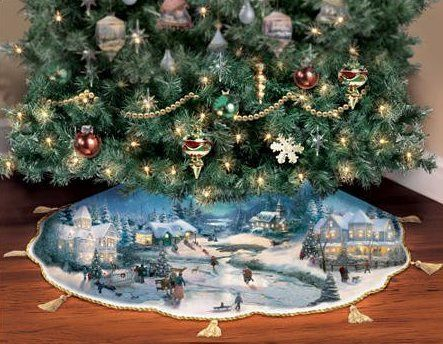 106 best christmas tree skirts images on Pinterest | Christmas ...