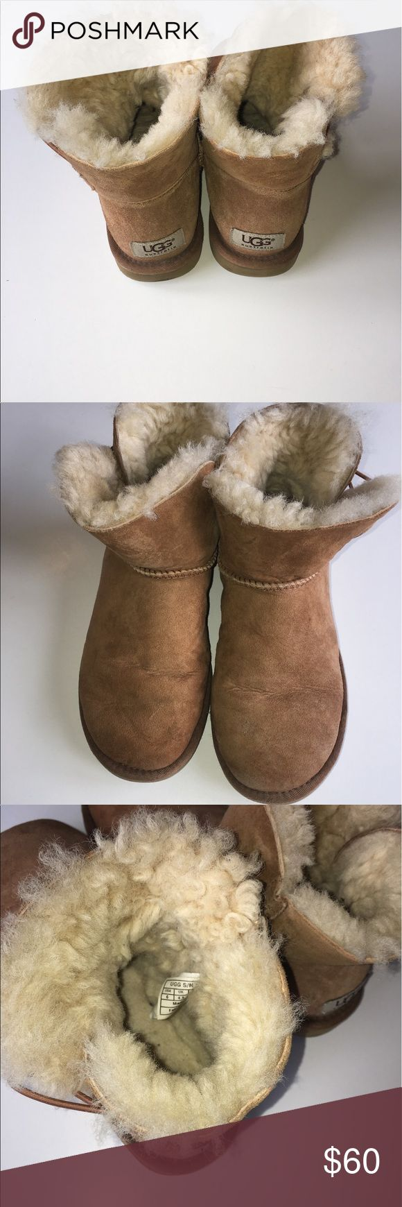 Women's Ugg Mini Bailey Button II Size 6 Women's Ugg Mini Bailey Button II in good condition. Not perfect but really good.. Size 6 UGG Shoes Ankle Boots & Booties