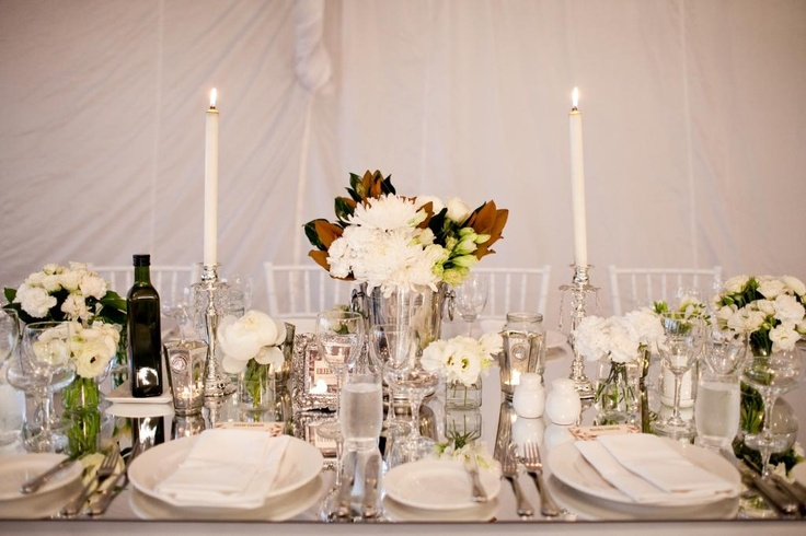 Mirrors, candles and fresh flowers galore www.touchedbyangels.com.au