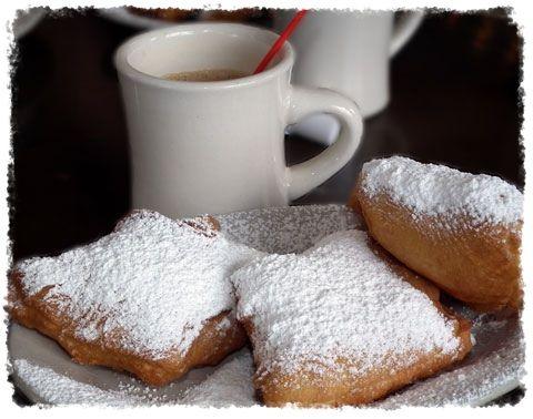 Beignets & Café au lait Recipes