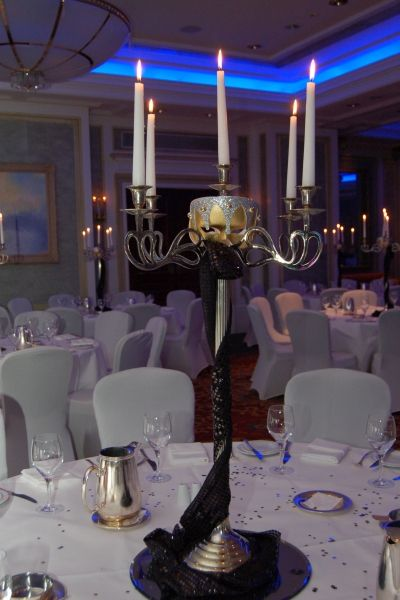 Masquerade Ball Decorations Venetian Candelabra Table