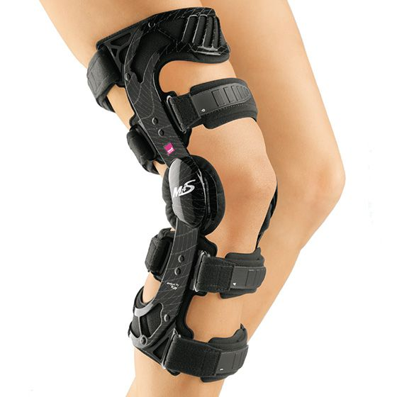 top of the line ACL brace.