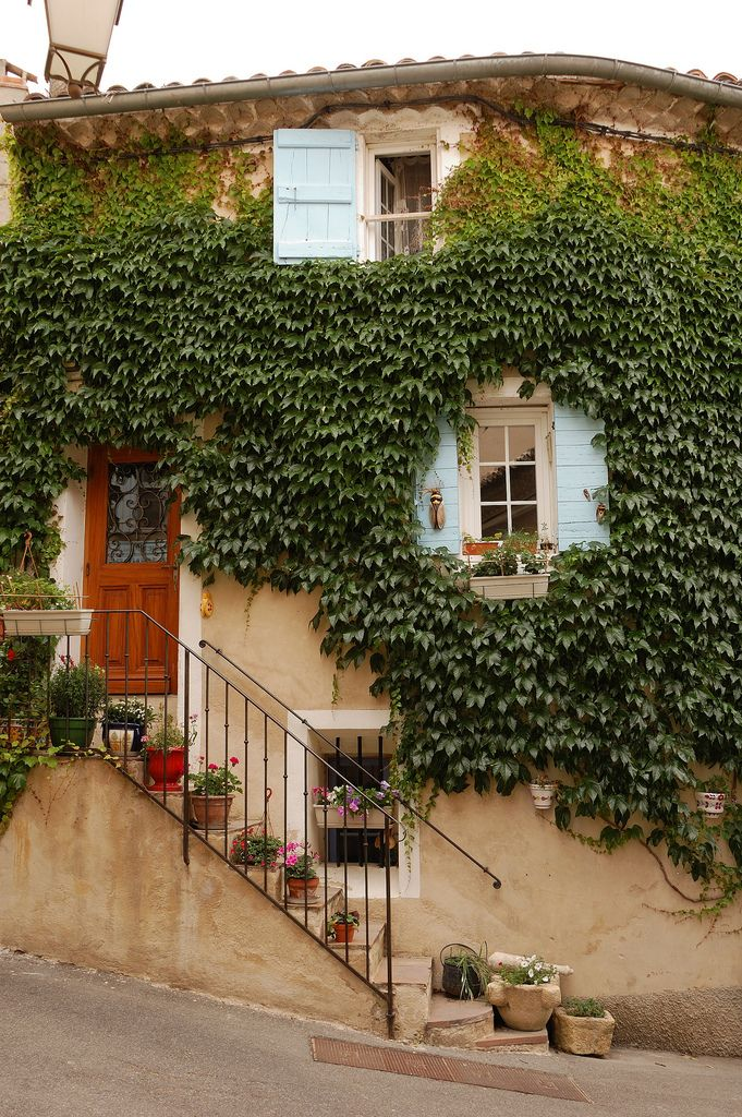 The village of Lourmarin, Provence, France...:
