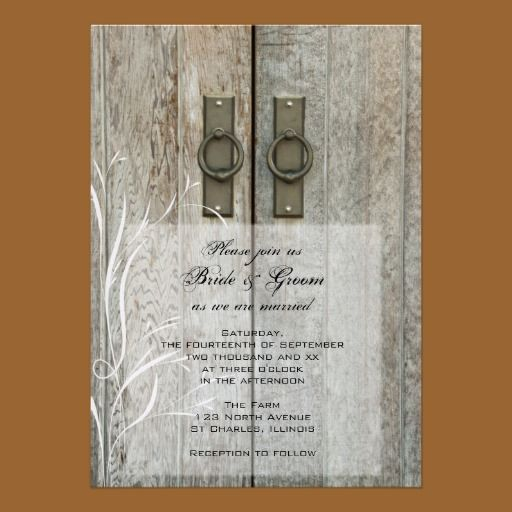 Welcome Sponsor: Country Wedding Invitations By Lora Severson Photography