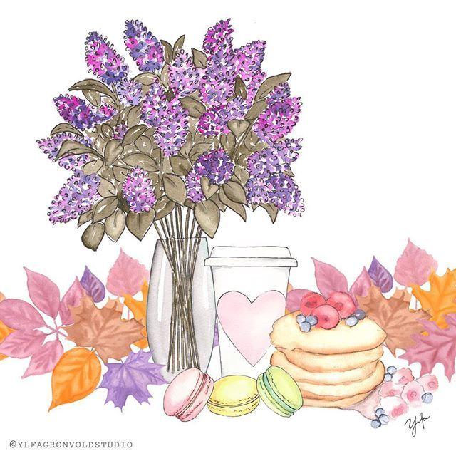 Weekend Treats ☕️ {#watercolor #illustration #autumn}