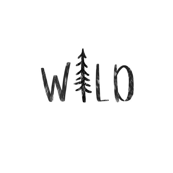 Wild Digital Download by pocketfulofletters on Etsy