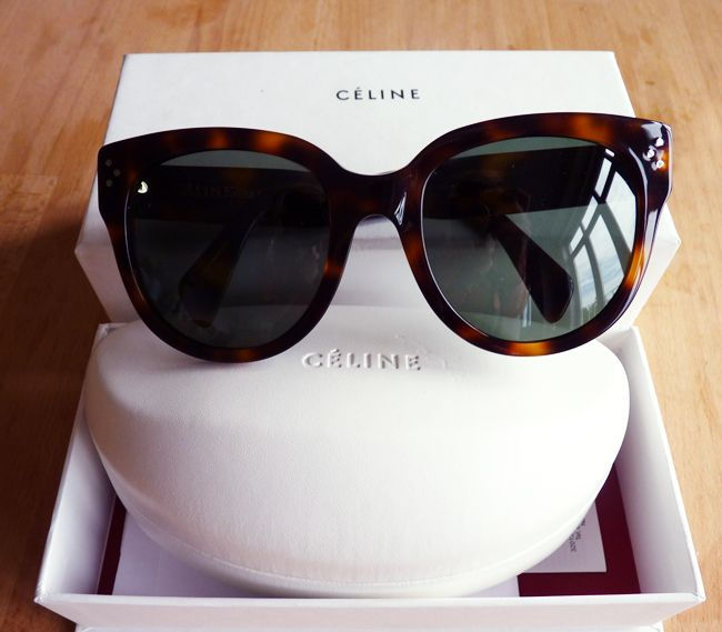 New in: Celine Audrey Sunglasses | FASHIONATA