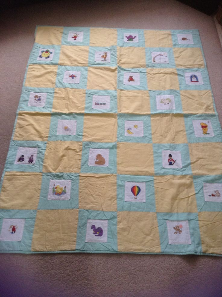 My first attempt at a quilt.