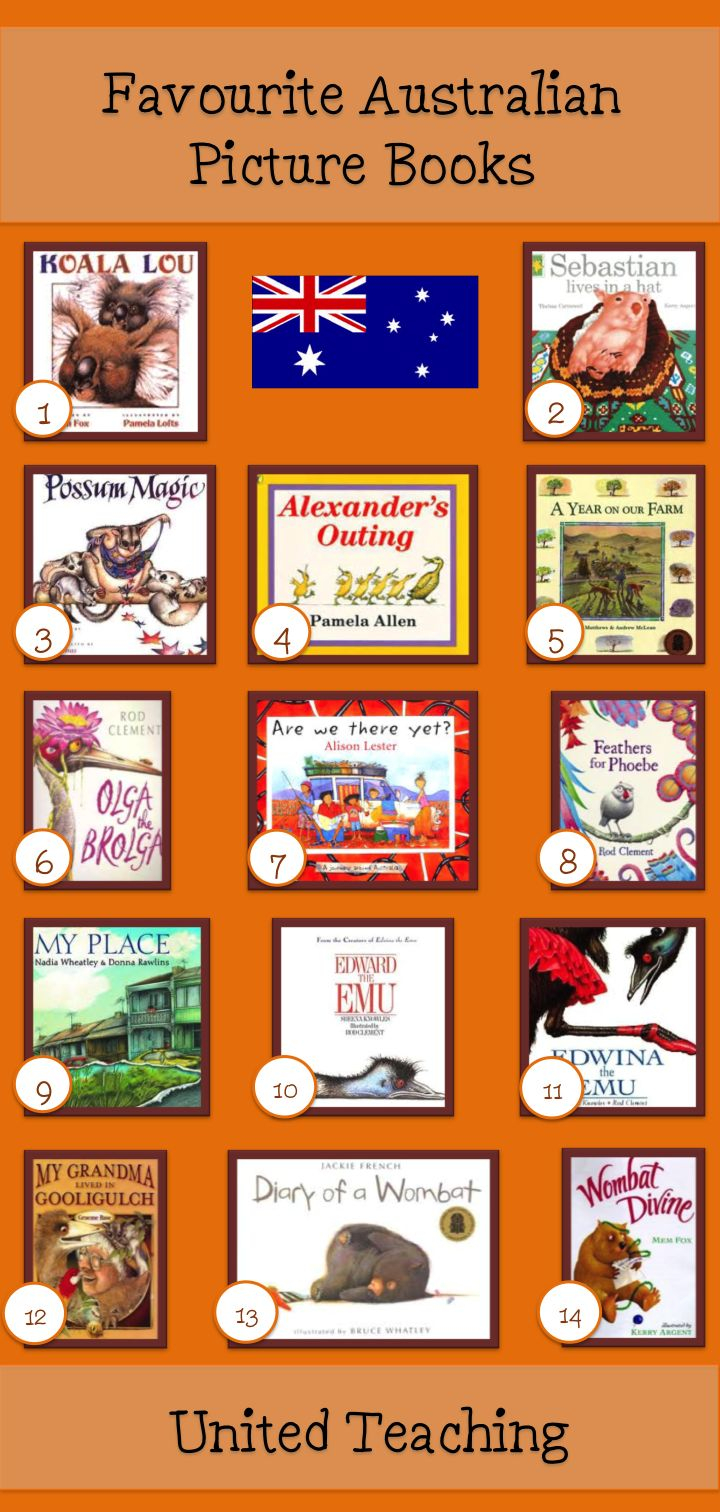 Favourite Australian Picture Books - United Teaching