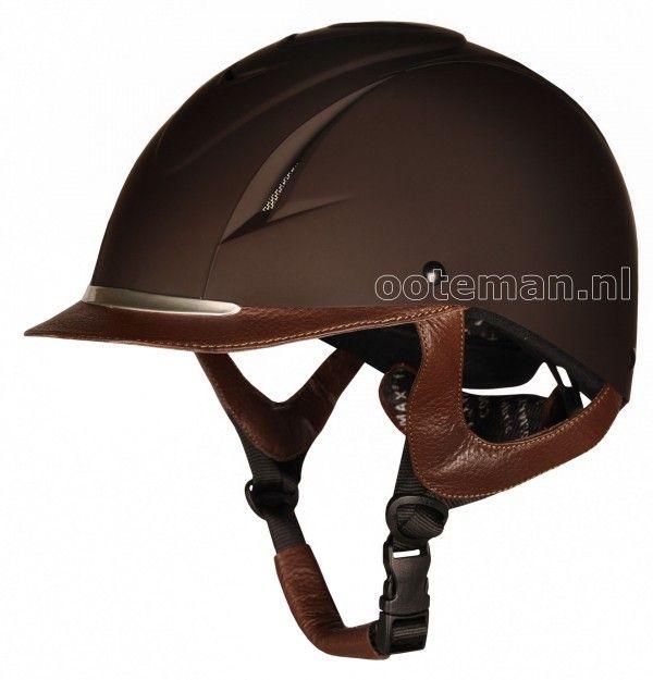 riding helmets equestrian | Harrys Horse Riding Helmet Challenge Brown