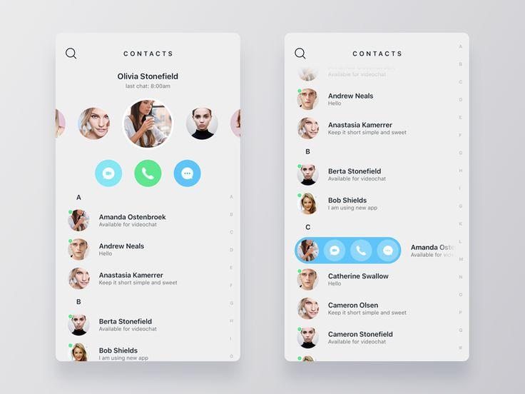 Contact page - design Inspiration – Muzli -Design Inspiration