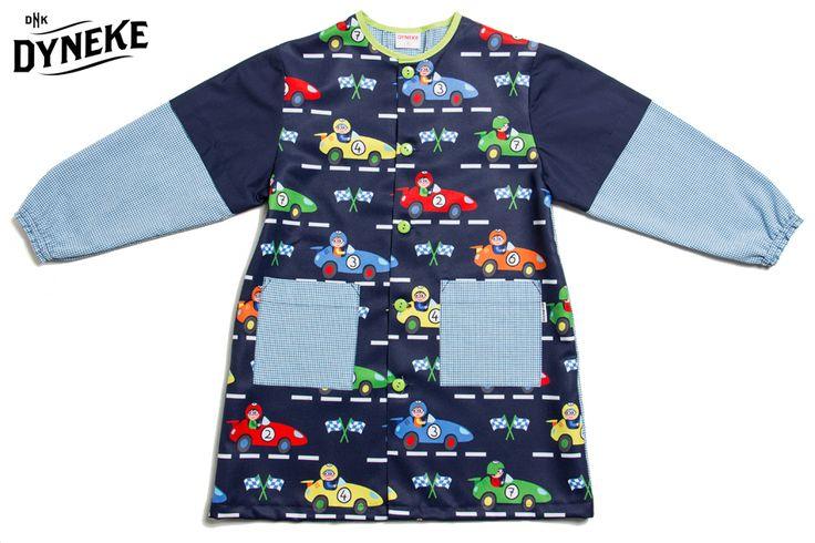 Carreras es otra de nuestras nuevas colecciones de batas escolares Dyneke. Todo el catálogo aqui:   https://cktiendaonline.es/textil/textil-moda/uniformes-escolares/babys-escolares-para-ninos