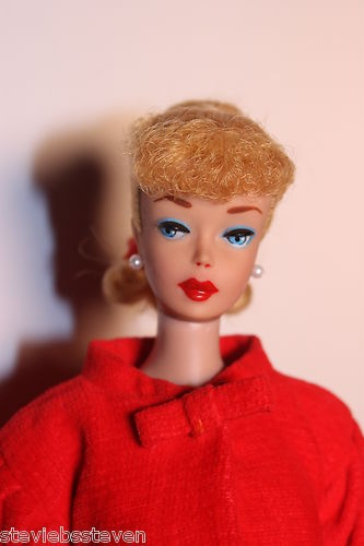 Vintage Barbie Ponytail  Red Flame | eBay