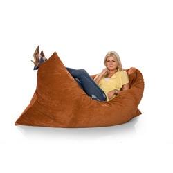 "Zoe Earth Rhinoplush Bean Bag (74""x 52""x6"")Zoe Earth, Earth Rhinoplush, Bags Chairs, Funky Seats, Pillows Sac, Beans Bags, Rhinoplush Beans, Giants Beans, Room Full"