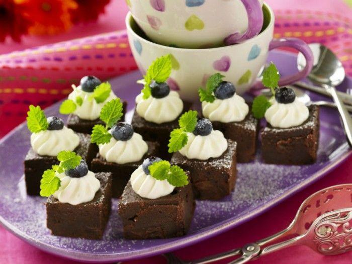 Chokladrutor med romrussin