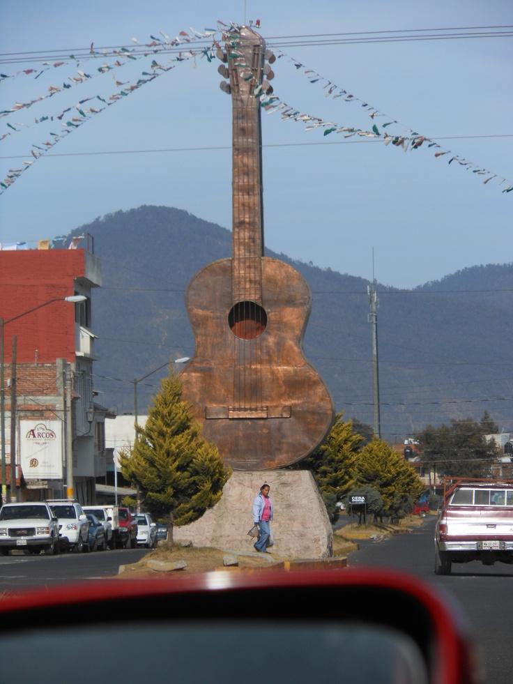 Paracho, Michoacan Mexico. Guitar capital of the world