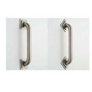 """Jaclo 2732. Polished Brass Bathroom Accessories 32"""" Grab With Contemporary Square/Diamond Flange by Jaclo. $268.50. Jaclo 2732. Bathroom Accessories 32"""" Grab With Contemporary Square/Diamond Flange - Available In Options Of Finishes Available In Options Of Finishes"""