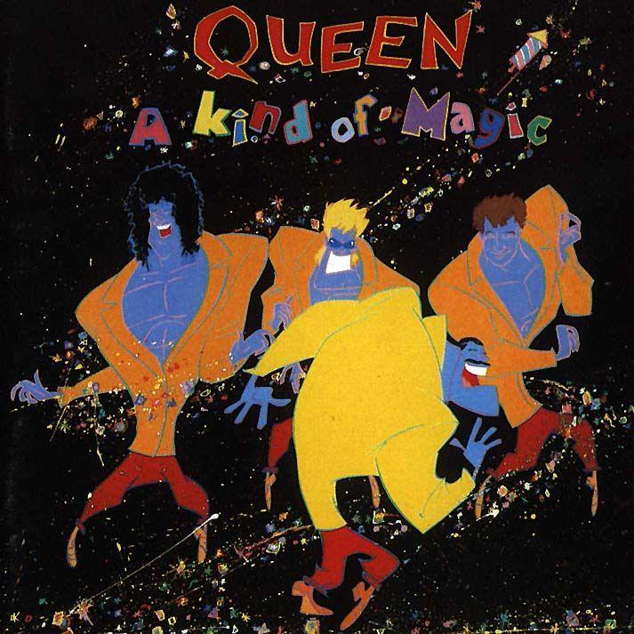Queen - A Kind of Magic album cover