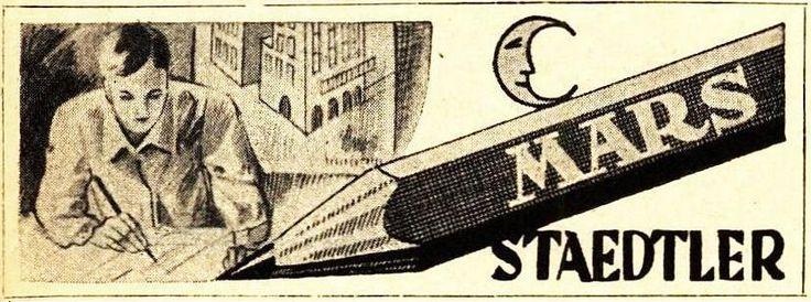 20 x Original-Anzeigen 1928-1952 : MARS - STAEDTLER / STIFTE UND FÜLLHALTER | eBay
