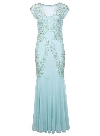 Embellished Maxi Dress #embellished  #maxidress  #missselfridge