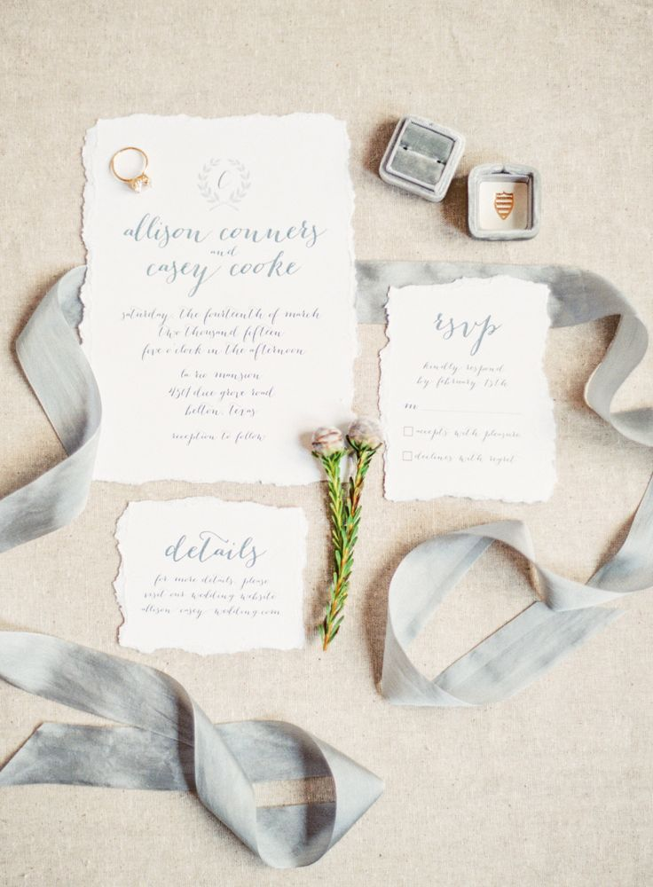 17 All White Invitation Suites That Are Anything
