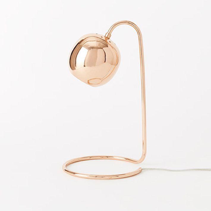 Scoop Table Lamp - Copper