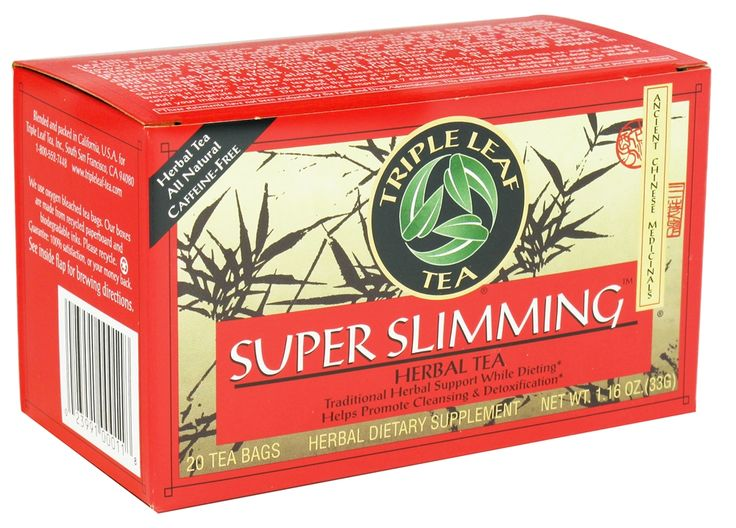Triple Leaf Tea - Super Slimming Tea - 20 Tea Bags | Tea ...