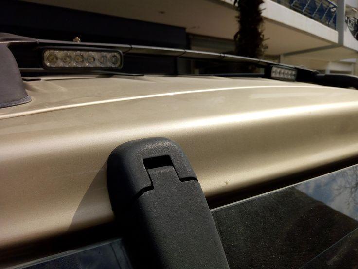 Back roof 2 X 18 Watt flood LED lights (work lights)