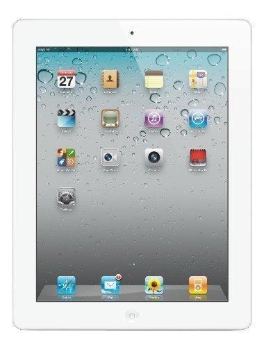 Apple iPad 2 MC979LL/A 2nd Generation Tablet (16GB Wifi White) (Certified Refurbished)