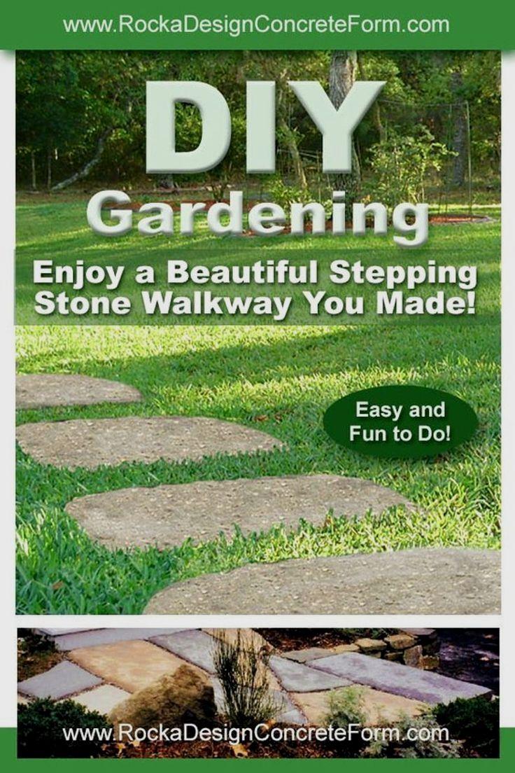 Stepping Stone Walk Maker Garden Path Mold In 2020 Garden Paths Beautiful Gardens Landscape Walk Maker