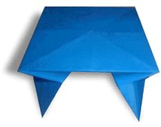 Origami Red and Table