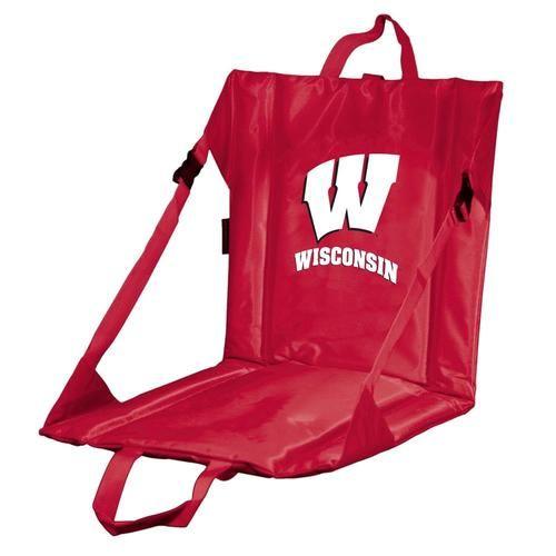 University of Wisconsin Badgers Stadium Seat With Back