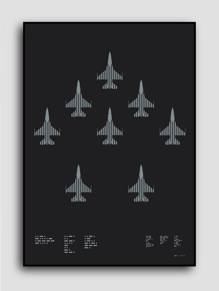 ≡✪≡ USAF F-16 Fighting Falcon  Help get this iconic aircraft printed in metallic silver on beautiful matt black paper https://t.co/EU37E5agf0  via @Kickstarter  Search for Grafik Aircraft on Kickstarter.