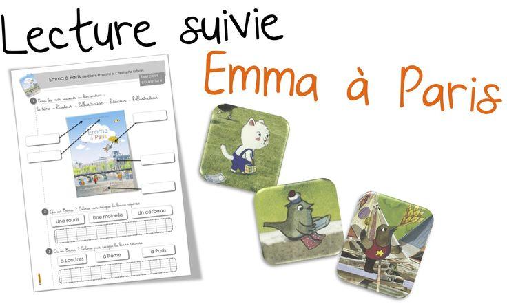 Emma à Paris : Lecture suivie CP CE1. | Bout de Gomme