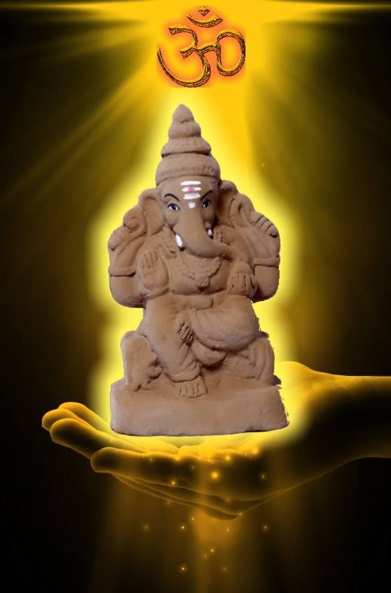 Our ecofriendly Ganpati idols are charged with positive vibrations with the use of vedic mantras and the use of ingredients prescribed in the holy scriptures.  #ecofriendly #ganesh #ganesha #ganeshchaturthi