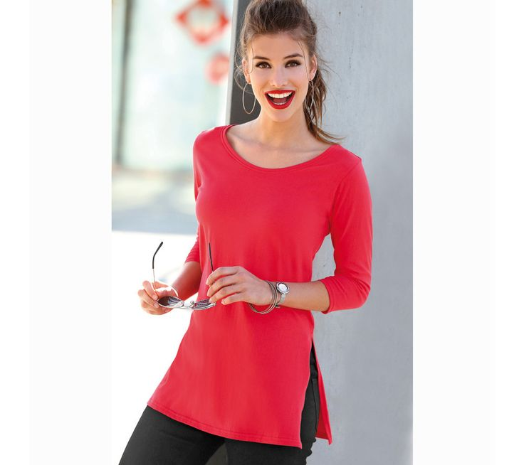 Jednofarebné tričko s 3/4 rukávmi | modino.sk #modino_sk #modino_style #style #fashion #newseason #autumn #fall