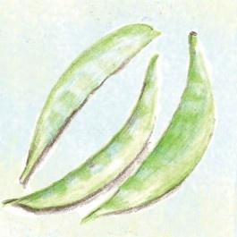 how to eat raw snap peas