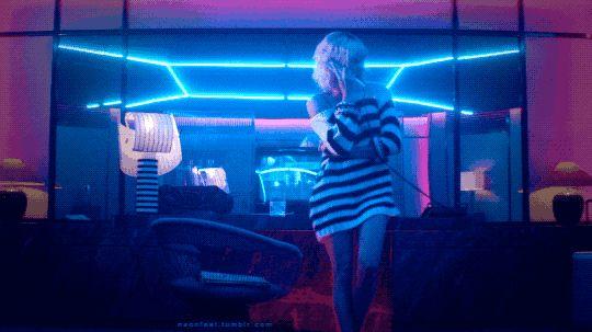 Nf 101 Atomic Blonde 2017 Neon Room Neon Aesthetic