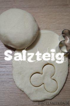 Tolles, einfaches Salzteig Rezept zum selber machen mit Kindern! #Knete