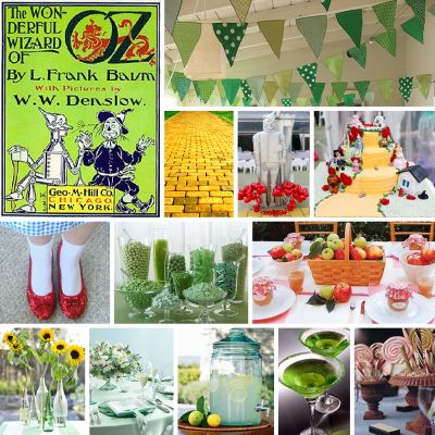 Wizard of Oz Birthday Party.  This would have been perfect for me when I was little!!!!