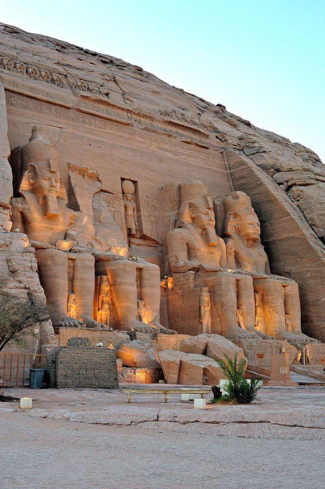 Abu Simbel Temple in Nubia, Egypt