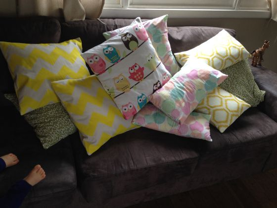 Envelope pillow case madness up on the blog