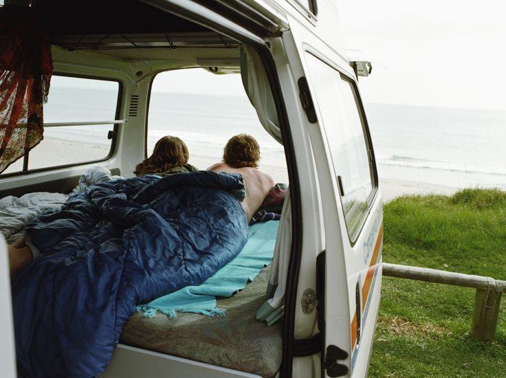 Avoir une vue imprenable, différente chaque matin. Vivre en camion!