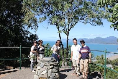 Friends at Port Douglas lookout