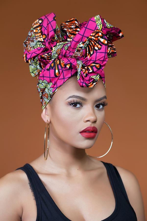 African Print Amala Headwrap