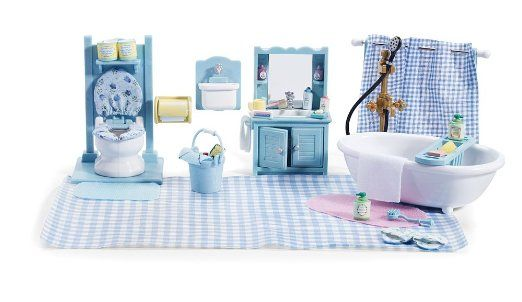 Elegant  Gt Sylvanian Furniture Gt Sylvanian Families Country Bathroom Set 5034