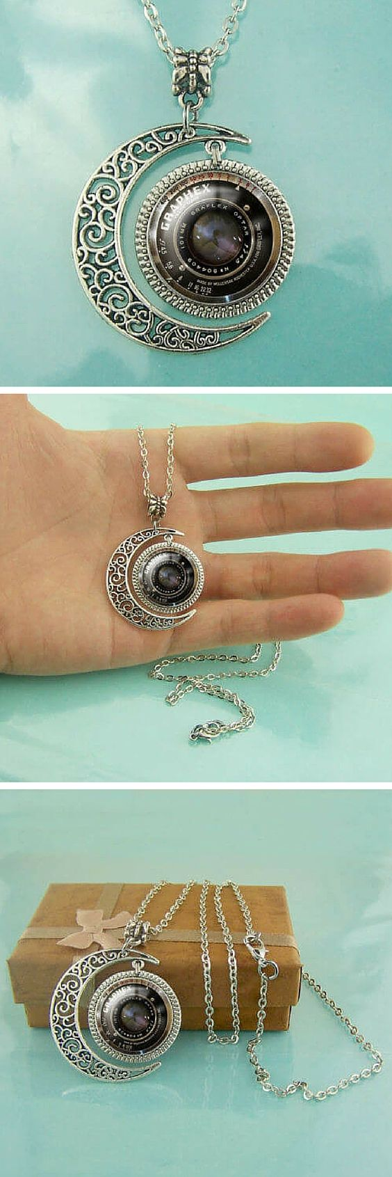 Love Photography? Then this is Photography necklace is for you. Get yours now at 50% off! Today only!