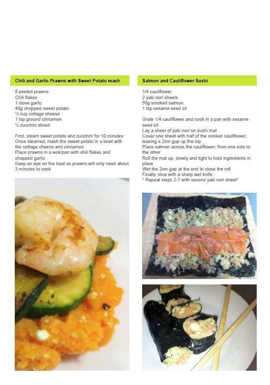 Ashy Bines Clean Eating Recipe - Chili and Garlic Shrimp