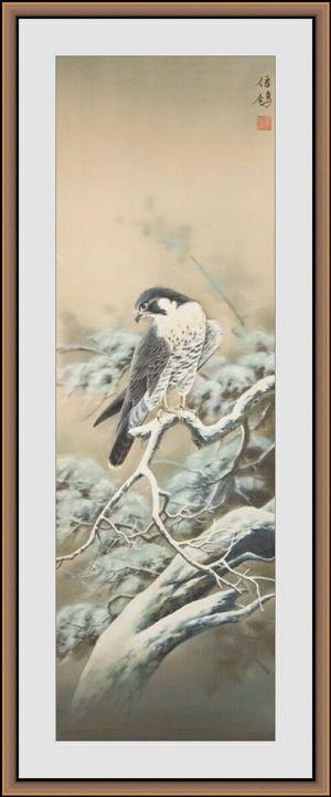 Сапсан - Sinke Art - восточная живопись. Заказ картины, панно, ширмы, интерьера